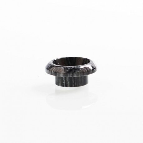 810 Drip Tip for 528 Goon / Kennedy / Reload RDA - Black, Resin, 8.4mm