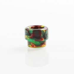 810 Wide Bore Drip Tip for Kryten / Apocalypse GEN 2 / Battle RDA - Green, Resin, 12.7mm