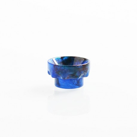 810 Wide Bore Drip Tip for Kryten / Apocalypse GEN 2 / Battle RDA - Dark Blue, Resin, 11mm