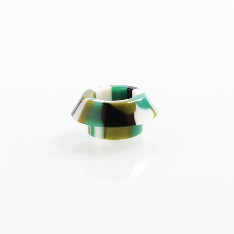 810 Wide Bore Drip Tip for Kryten / Apocalypse GEN 2 / Battle RDA - Green, Resin, 9.4mm