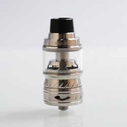Authentic Tesla Tallica TS-S Sub Ohm Tank Clearomizer - Silver, Stainless Steel, 6ml, 26mm Diameter, 0.2 ohm (80~140W)