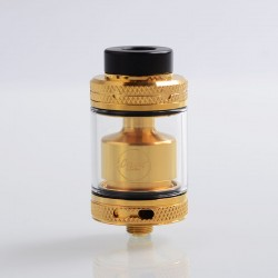 Authentic CoilART MAGE RTA V2 Rebuildable Tank Atomizer - Gold, Stainless Steel, 3.5ml, 24mm Diameter