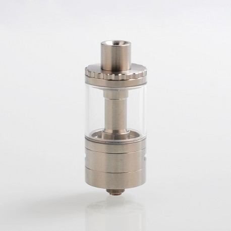 Authentic Thunderhead Creations THC Proto RTA Rebuildable Tank Atomizer - Silver, Stainless Steel, 5ml, 22mm Diameter