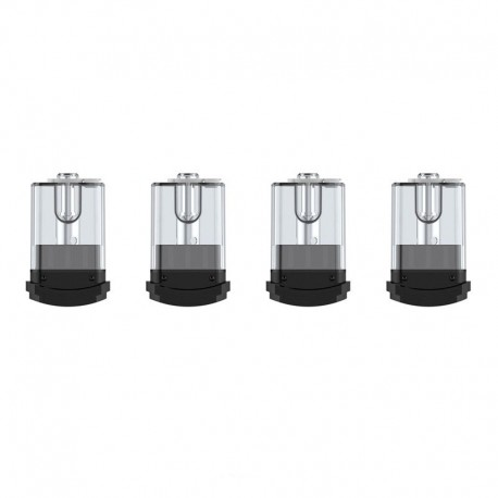 Authentic Vaptio Replacement Pod Cartridges for Spin-It Starter Kit - 1.8ml, 1.2ohm (15W) (4 PCS)