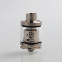Mars Style RTA Rebuildable Tank Atomizer - Silver, 316 Stainless Steel, 25mm Diameter
