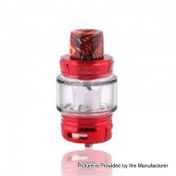 Authentic Horizon Falcon Sub Ohm Tank Clearomizer - Red, Stainless Steel, 0.16 Ohm, 7ml, 25mm Diameter
