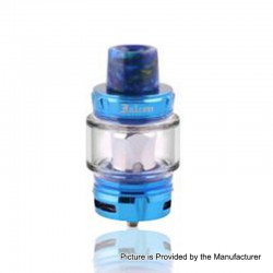 Authentic Horizon Falcon Sub Ohm Tank Clearomizer - Blue, Stainless Steel, 0.16 Ohm, 7ml, 25mm Diameter