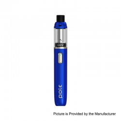 Authentic IJOY Pole 600mAh MTL All-in-One Pod System Starter Kit - Blue, Aluminum Alloy