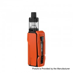 Authentic Joyetech ESPION Silk 2800mAh 80W TC VW Variable Wattage Box Mod + NotchCore Clearomizer Kit - Orange, 1~80W, 2.5ml