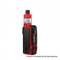 Authentic Joyetech ESPION Silk 2800mAh 80W TC VW Variable Wattage Box Mod + NotchCore Clearomizer Kit - Black, 1~80W, 2.5ml