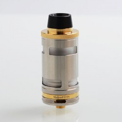 Typhoon GT4 Style RTA Rebuildable Tank Atomizer - Gold, 316 Stainless Steel, 5ml, 26mm Diameter