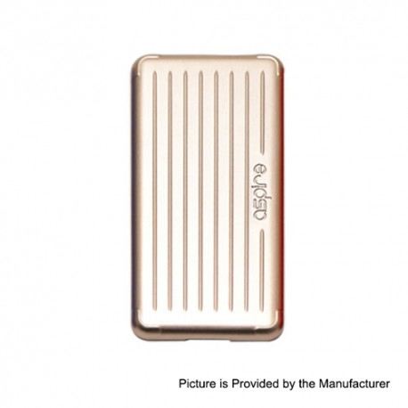Authentic Aspire Replacement Side Panel for Puxos Box Mod - Gold