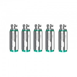Authentic Aspire Replacement Coil Heads for Breeze 2 Starter Kit - 1.0 Ohm (5 PCS)