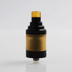 Authentic 3CVAPE Savour MTL RTA Rebuildable Tank Atomizer - Black, Stainless Steel, 2ml, 22mm Diameter