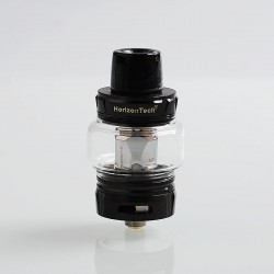 Authentic Horizon Falcon Sub Ohm Tank Clearomizer - Black, Stainless Steel, 0.16 Ohm, 7ml, 25mm Diameter