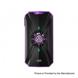 Authentic IJOY Zenith 3 VV Variable Voltage Box Mod - Mirror Purple, 2.7~7.2V, 2 x 18650 / 20700
