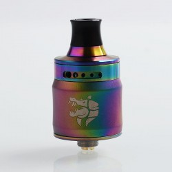 Authentic GeekVape Ammit MTL RDA Rebuildable Dripping Atomizer w/ BF Pin - Rainbow, Stainless Steel, 22mm Diameter