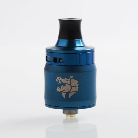Authentic GeekVape Ammit MTL RDA Rebuildable Dripping Atomizer w/ BF Pin - Blue, Stainless Steel, 22mm Diameter