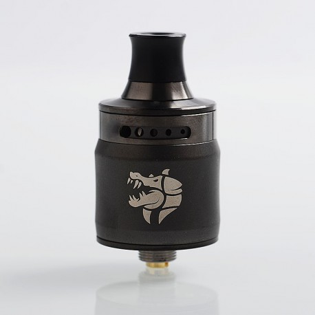 Authentic GeekVape Ammit MTL RDA Rebuildable Dripping Atomizer w/ BF Pin - Gunmetal, Stainless Steel, 22mm Diameter