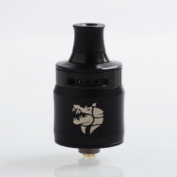 Authentic GeekVape Ammit MTL RDA Rebuildable Dripping Atomizer w/ BF Pin - Black, Stainless Steel, 22mm Diameter