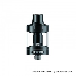 Authentic Vapefly Nicolas MTL Sub Ohm Tank Clearomizer TPD Version - Black, Stainless Steel, 2ml, 0.6 Ohm, 22mm Diameter