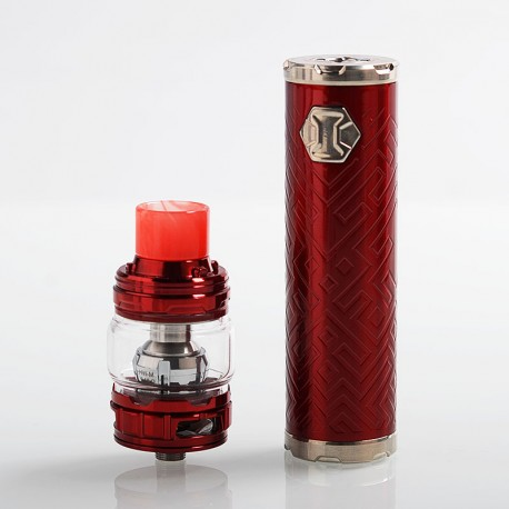 Authentic Eleaf iJust 3 80W 3000mAh Mod + ELLO Duro Tank Kit - Red, 6.5ml, 0.15 / 0.2 Ohm