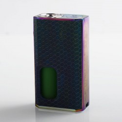 Authentic Wismec Luxotic 100W Squonk Box Mod - Blue Honeycomb, 7.5ml, 1 x 18650