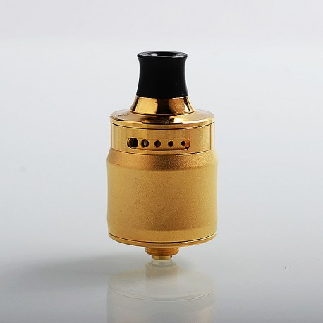 Authentic GeekVape Ammit MTL RDA Rebuildable Dripping Atomizer w/ BF Pin - Gold, Stainless Steel, 22mm Diameter