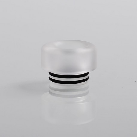 810 Replacement Drip Tip for TFV8 / TFV12 Tank / 528 Goon / Kennedy / Reload RDA - Translucent, Resin, 12mm