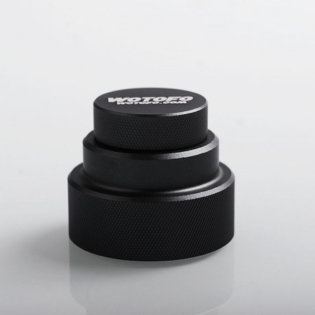 Authentic Wotofo Easy Fill Squonk Cap for 100ml E-juice Bottle / BF Squonk Box Mod - Gun Metal, Aluminum
