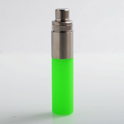 Authentic Wotofo Stentorian Easy Refill Squonk Bottle - Green, Stainless Steel + Silicone, 30ml