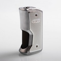 Authentic Aspire Feedlink Revvo Squonk Box Mod - Silver, 1 x 18650, 7ml