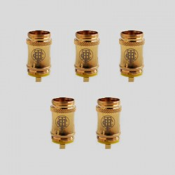 Authentic THC Replacement Clapton Nichrome Coil Head for Teemo Tank Clearomizer - 0.55 Ohm (5 PCS)