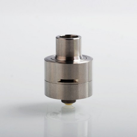 Kindbright M-Atty Style RDA Rebuildable Dripping Atomizer w/ BF Pin - Silver, 316 Stainless Steel, 22mm Diameter