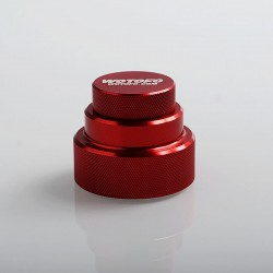 Authentic Wotofo Easy Fill Squonk Cap for 100ml E-juice Bottle / BF Squonk Box Mod - Red, Aluminum