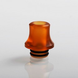 Authentic Vapefly 510 Replacement Drip Tip for Galaxies MTL RDA - Yellow, PMMA, 16mm