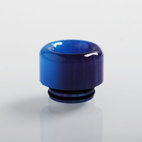 Authentic Vapesoon 810 Replacement Drip Tip for TFV8 / TFV12 Tank / 528 Goon / Kennedy / Reload RDA - Blue + Purple, Resin, 14mm