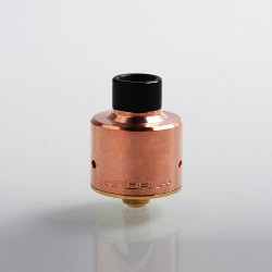 YC Vape Hadaly Style RDA Rebuildable Dripping Atomizer w/ BF Pin - Copper, Copper + 316 Stainless Steel, 22mm Diameter