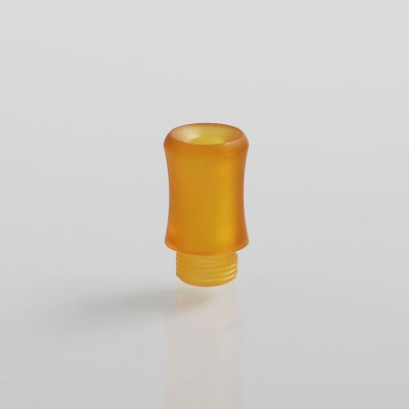 Coppervape Replacement Drip Tip for Spica Pro Style MTL RTA - Yellow, PEI, 14.5mm