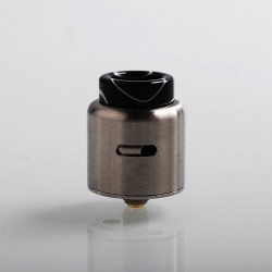 Authentic Eleaf Coral 2 RDA Rebuildable Dripping Atomizer w/ BF Pin - Silver, Stainless Steel, 24mm Diameter