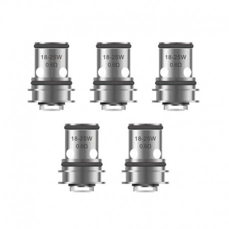 Authentic Vapefly Replacement Coil Head for Nicolas MTL Sub Ohm Tank Clearomizer - 0.6 Ohm (18~25W) (5 PCS)