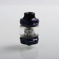 Authentic Wotofo Flow Pro SubTank Sub Ohm Tank Clearomizer - Dark Blue, Stainless Steel, 5ml, 25mm Diameter, 0.18 Ohm