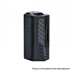 Authentic Lost Vape Triade DNA250C 300W TC VW Variable Wattage Box Mod - Gun Metal + Black Grey Kevlar, 1~300W, 3 x 18650