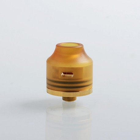 Authentic Oumier Wasp Nano Mini RDA Rebuildable Dripping Atomizer w/ BF Pin - Gold, Brass, 22mm diameter