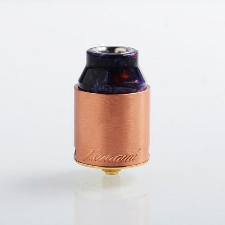 Authentic GeekVape Tsunami Pro 25 RDA Rebuildable Dripping Atomizer - Copper, Copper, 25mm Diameter