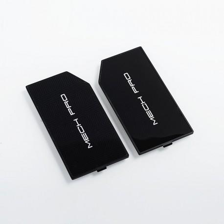 Authentic GeekVape Replacement Front and Back Panels for Mech Pro Mechanical Box Mod - Black, Zinc Alloy (2 PCS)