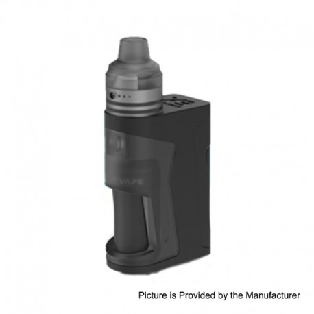 Authentic Vandy Vape Simple EX Squonk Box Mod + EX RDA Kit - Black, 3.3~4.5V, 4ml