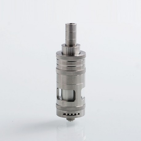 Authentic eXvape eXpromizer V3 Fire MTL RTA Rebuildable Tank Atomizer - Brushed, Stainless Steel, 4ml, 22mm Diameter