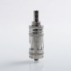 Authentic eXvape eXpromizer V3 Fire MTL RTA Rebuildable Tank Atomizer - Polished, Stainless Steel, 4ml, 22mm Diameter
