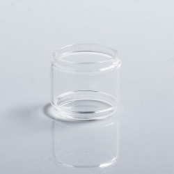Authentic Vapesoon Replacement Bubble Tank Tube for Wotofo Bravo RTA - Transparent, Glass, 6ml